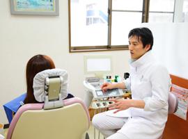 当院では、診査・診断・説明に重点を置いた治療を実施しています。
